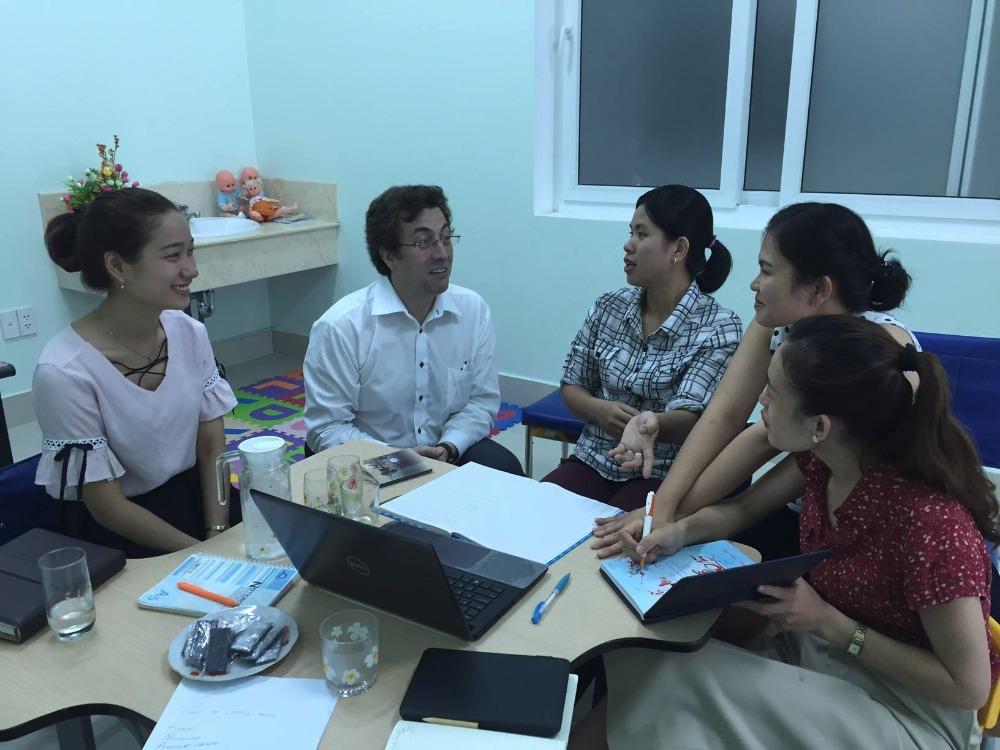 Teaching in Da Nang