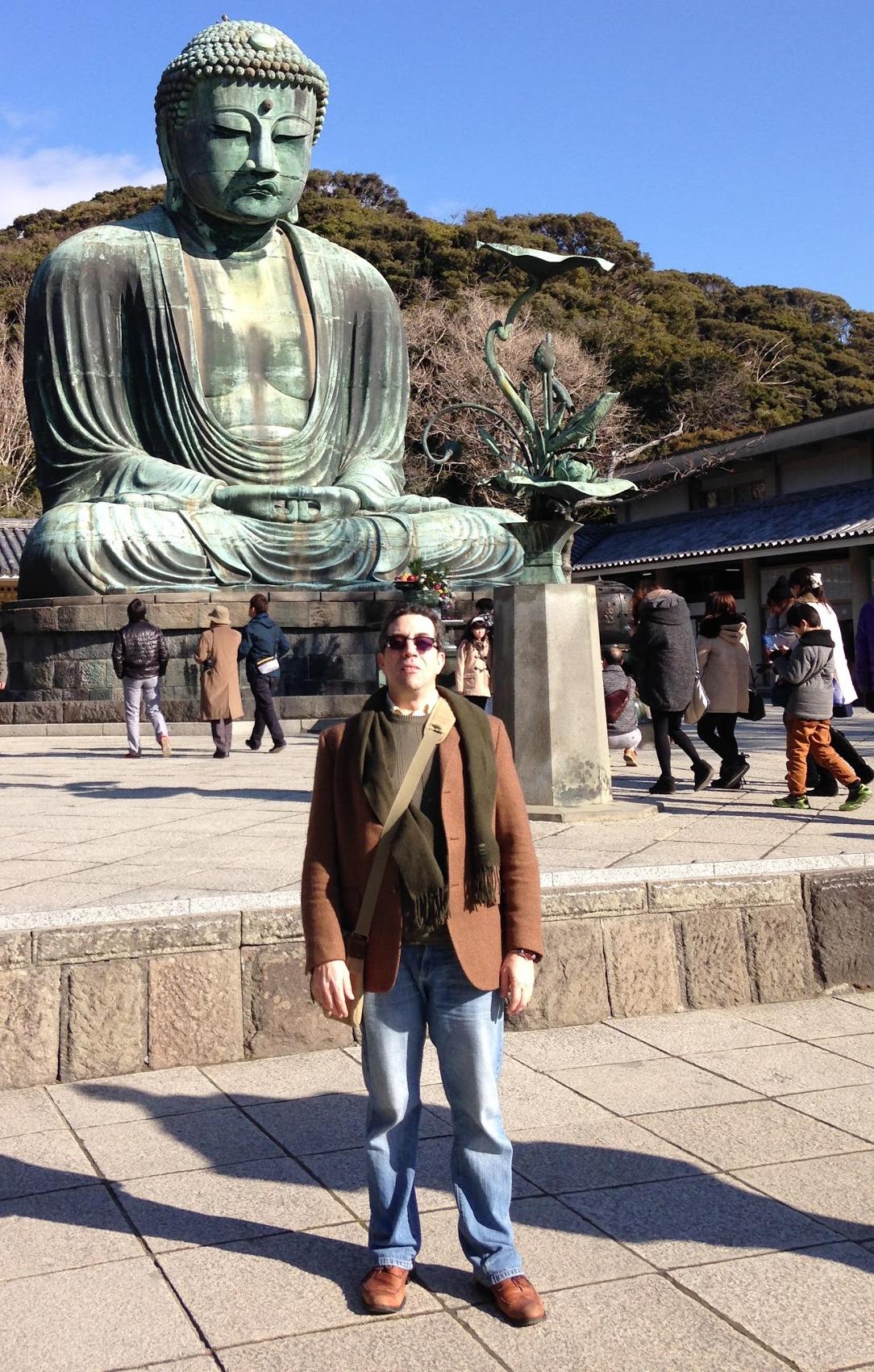 Me with a giant buddha